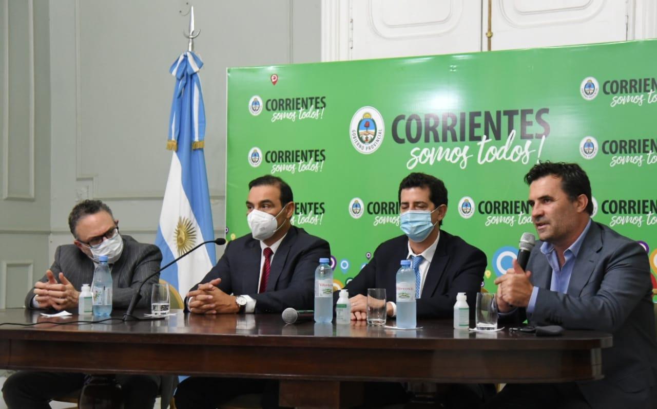 Junto a Valdés, ministros de Nación comprometieron financiamiento para el desarrollo industrial de Corrientes
