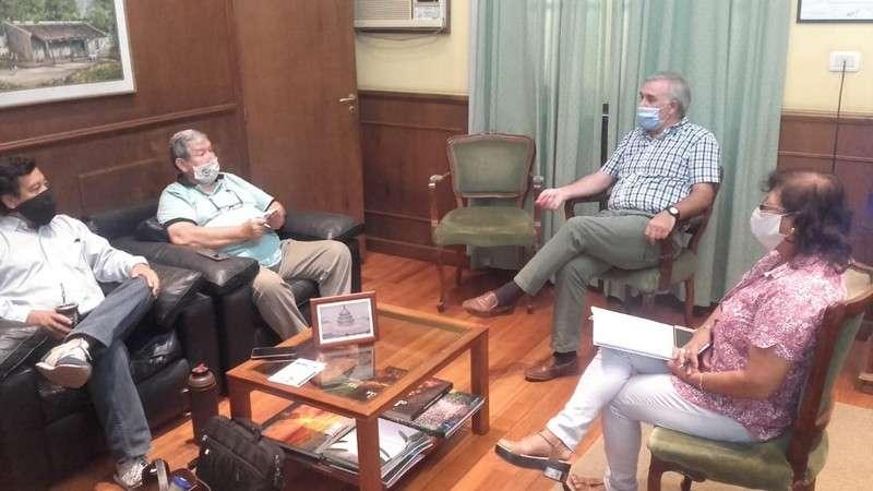 Anselmo y el CPIAC avanzaron en una agenda clave para el desenvolvimiento profesional de los ingenieros agrónomos