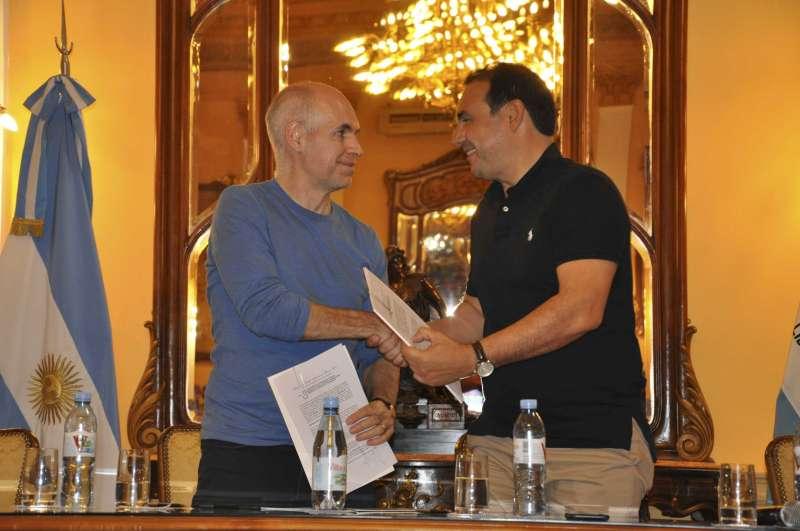 Valdés recibe a Rodríguez Larreta para profundizar el vínculo entre la provincia de Corrientes y la Ciudad de Buenos Aires