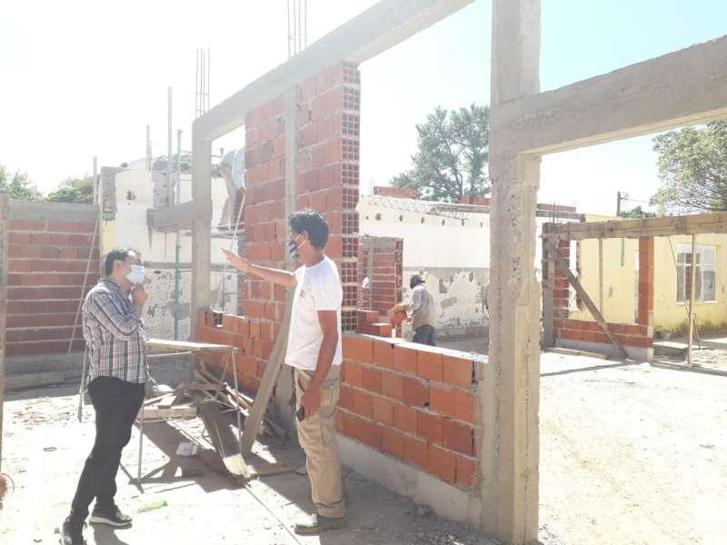 Avanzan las obras de infraestructura en Centros de Desarrollo Infantil y Hogares del Ministerio de Desarrollo Social