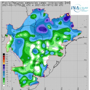 Pronostican escasas lluvias durante esta semana