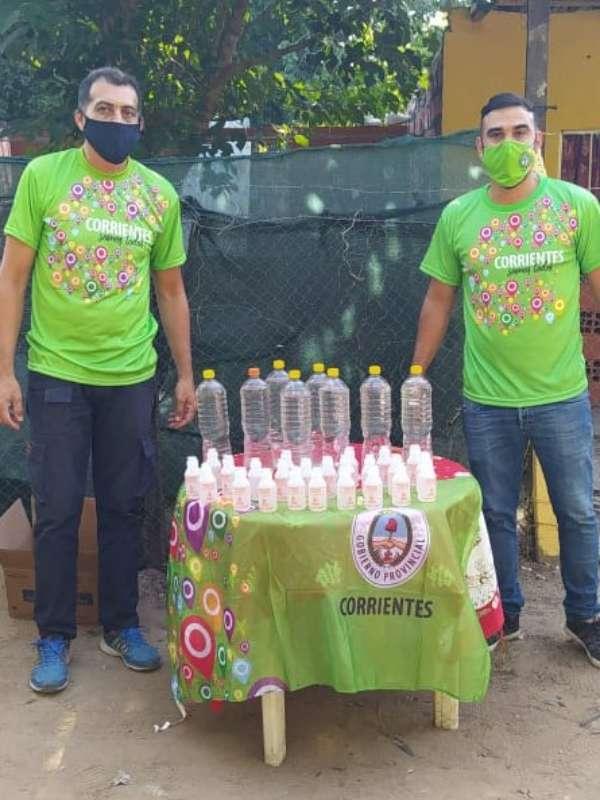 Desarrollo Social y Municipio realizaron fumigación y distribución de repelentes