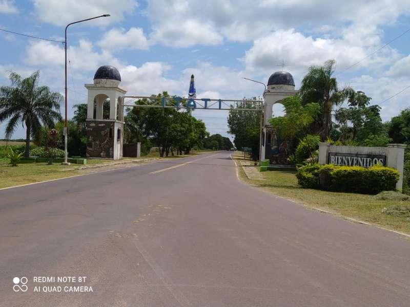 Vialidad Provincial limpió y reacondicionó la zona del camino de todo el acceso a Itatí
