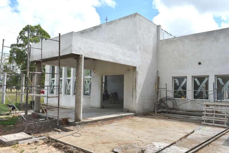 El nuevo edificio del Hogar de Ancianos de Ituzaingó está próximo a concluir