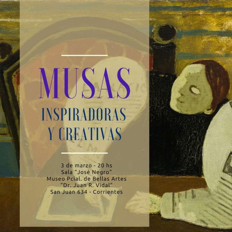 """Se habilita la muestra """"Musas"""" en el museo de Bellas Artes"""