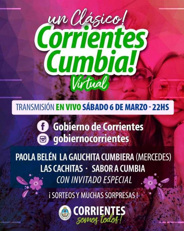 Corrientes Cumbia Virtual y el Teko Chamamé con interesantes propuestas para las familias