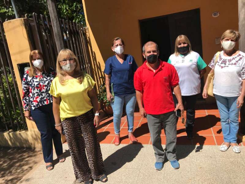 Se entregaron recursos en Hogar de Adultos Mayores San José
