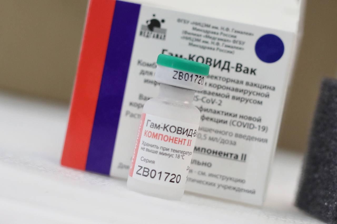 Sputnik V: llegaron 7.800 dosis del segundo componente para personal de salud y mayores de 65 años