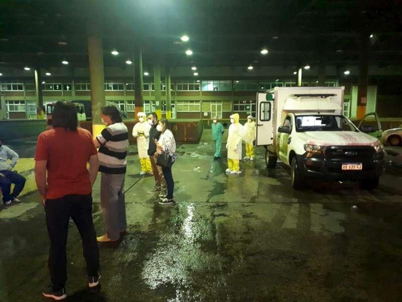 Personal de Salud de la Provincia asistió a argentinos varados en la frontera con Brasil