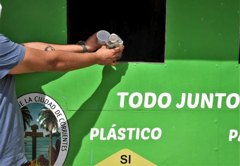 La Municipalidad presentó el programa Puntos Verdes en los Mitaí