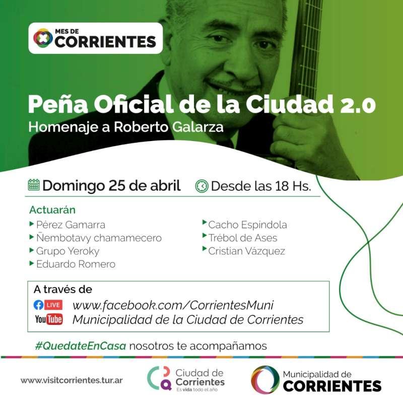 La Municipalidad rendirá homenaje a Roberto Galarza