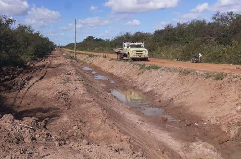 La Provincia encara obras de  canalización en Yapeyú para dar solución a anegamientos