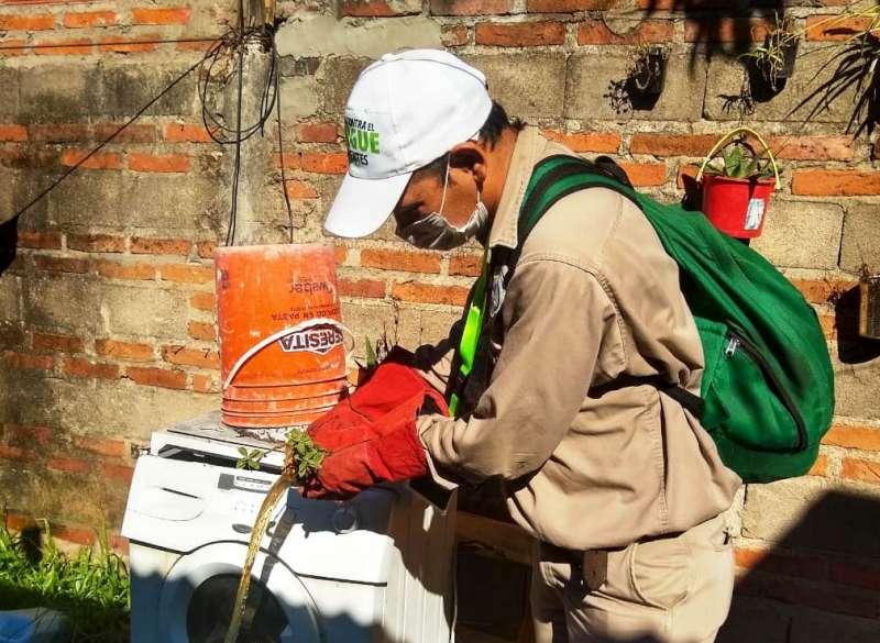 Salud realizó trabajos de bloqueo vectorial en barrios de Capital y en Virasoro