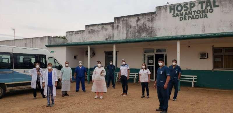Salud realiza búsqueda activa de casos en Curuzú Cuatiá y La Cruz
