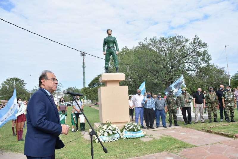 """Tassano. """"Queremos recuperar el recuerdo para honrar a los caídos y venerar a nuestros héroes"""""""