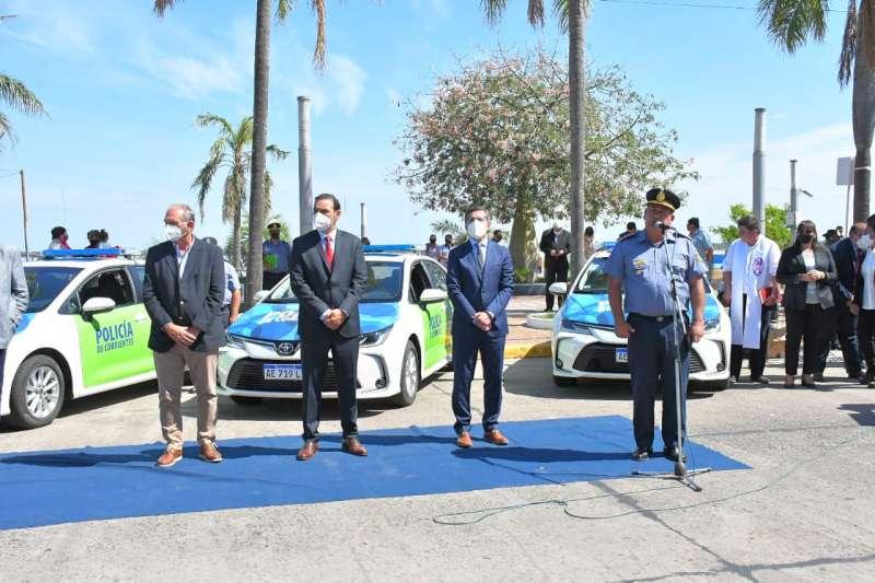 Valdés fortalece la prestación del servicio de Seguridad en Corrientes