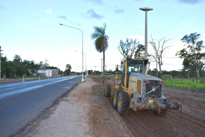 Ensanche de Ruta 5, las obras están avanzadas en los primeros kilómetros desde Laguna Brava