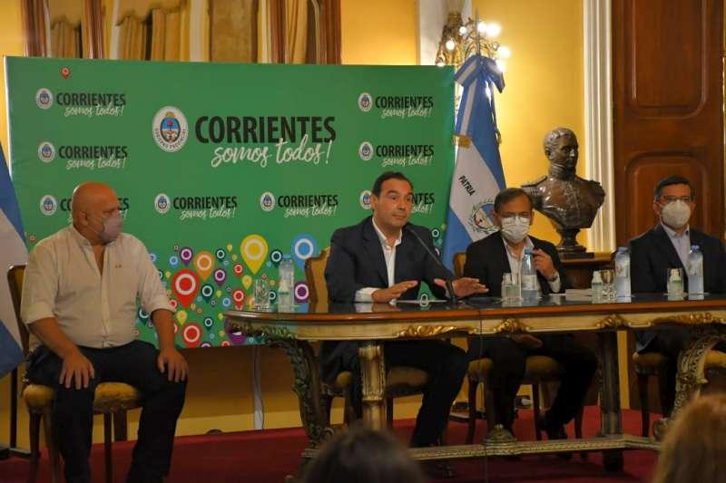 Valdés pidió precaución a la población y ratificó el sistema de fases por ciudad