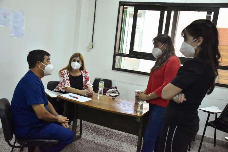 Salud intensifica la respuesta a la pandemia en Goya