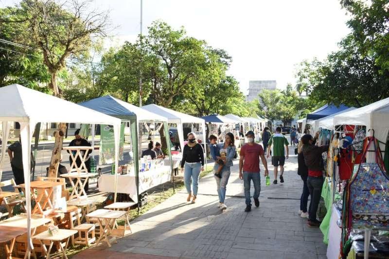 Se realizó la multiferia en tres barrios de la Capital correntina durante el fin de semana