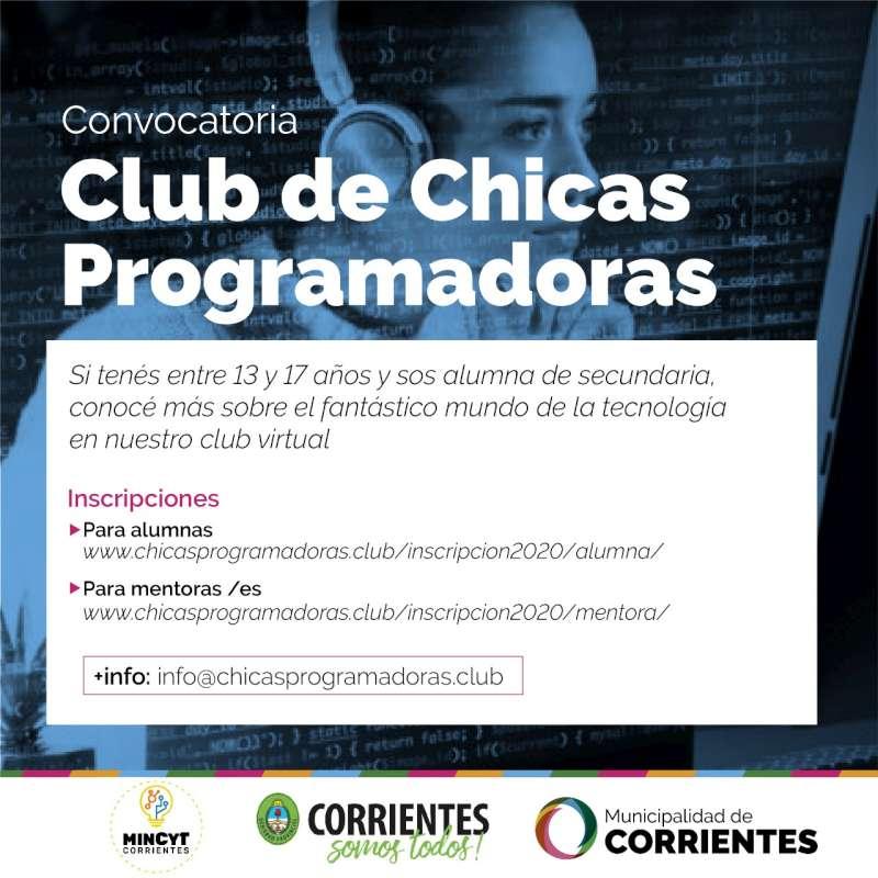Chicas programadoras. La Municipalidad junto a la Provincia realizarán capacitaciones gratuitas