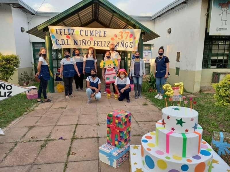 """El Centro de Desarrollo Infantil """"Niño Feliz"""" celebró sus 37 años"""