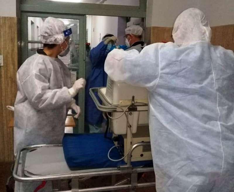 Se produjo el 44º nacimiento en el Hospital de Campaña