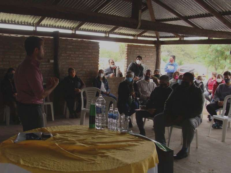 San Luis del Palmar marcó el creciente interés de productores en sumarse al programa provincial