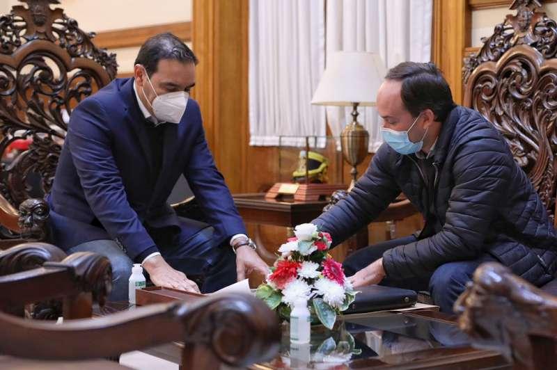 Valdés recibió al secretario de Desarrollo Humano de Goya y acordaron futuras acciones en la ciudad
