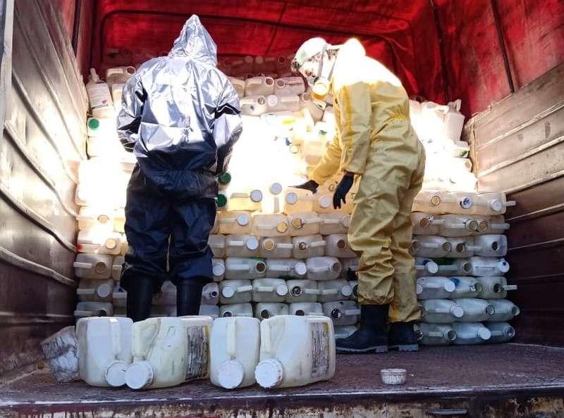 La Campaña Itinerante en Yahapé recibió más de 11.000 envases vacíos de fitosanitarios