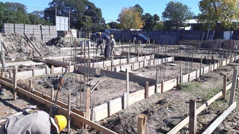 El gobierno provincial comenzó la obra del nuevo edificio de la comisaria 14 en barrio Dr. Montaña
