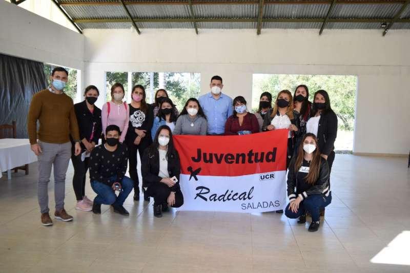 La Juventud Radical correntina fortalece el trabajo político en territorio