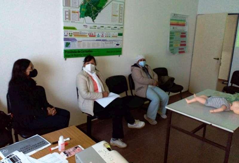 Salud capacita a personal de atención primaria sobre Infecciones Respiratorias Agudas Bajas