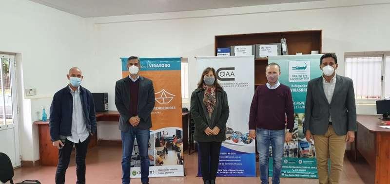 Promoción de Hecho en Corrientes y el Club de Emprendedores en Gobernador Virasoro