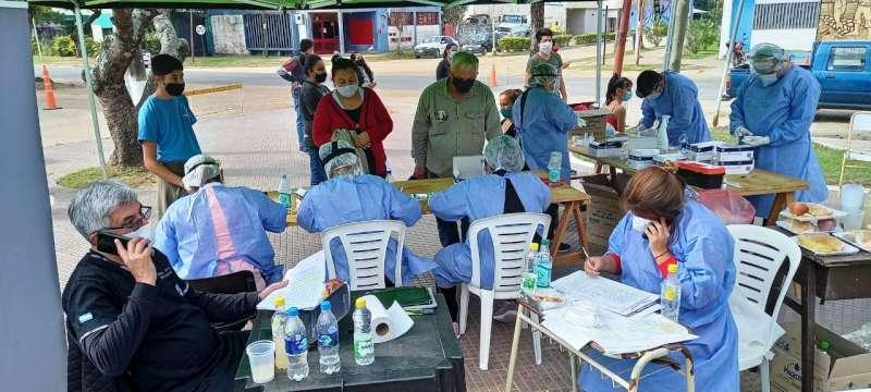Equipos de Salud trabajan en Itá Ibaté para controlar el brote de Covid-19
