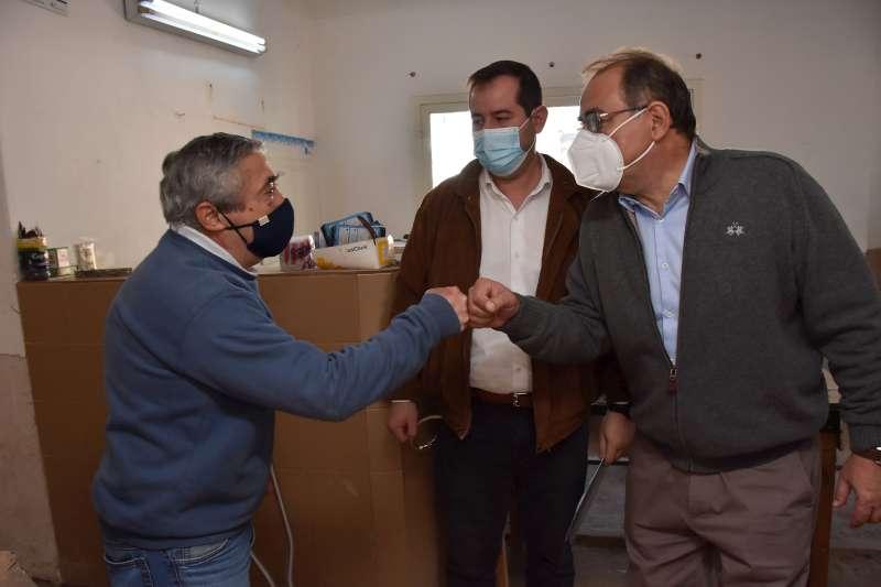 """Tassano y Lanari, en la SAPS del barrio Ferré: """"Sumaremos más consultorios clínicos y odontológicos"""""""