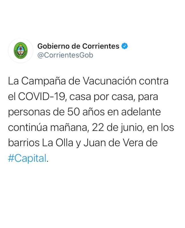 Vacunan casa por casa en los barrios La Olla y Juan de Vera de Capital
