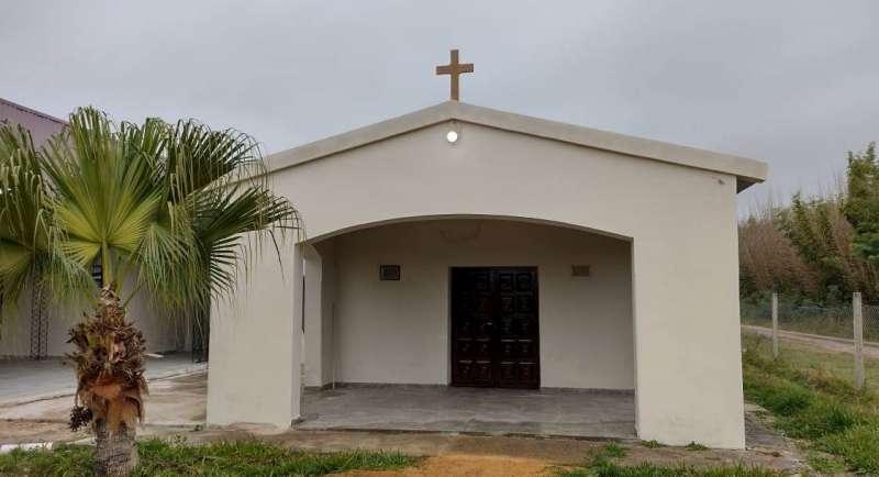 """La Provincia refaccionó y amplió la capilla """"San Cayetano"""" de Lavalle"""