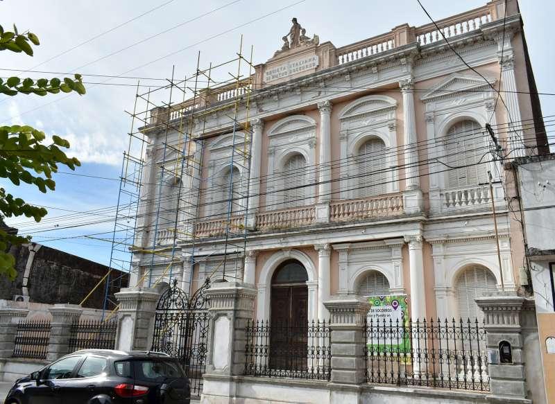 La provincia restaura el histórico edificio de la Sociedad Italiana de la ciudad de Goya