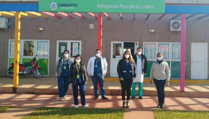 Salud realiza un operativo ampliado de Covid-19 en Paso de los Libres
