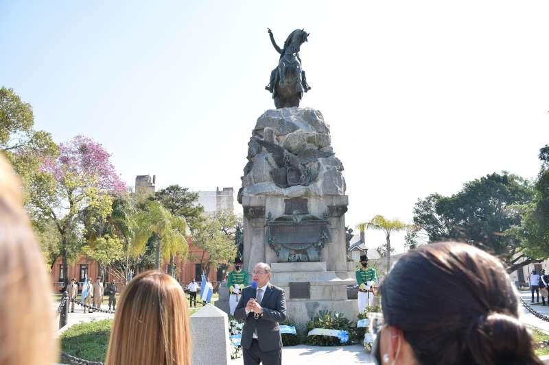 """Tassano. """"El legado del general San Martín hoy está vigente"""""""