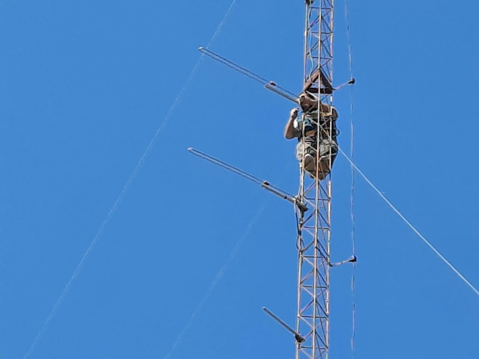 Fortalecimiento de la comunicación VHF en el sistema sanitario del interior provincial