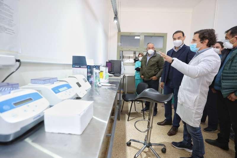 Valdés supervisó nueva infraestructura en el Hospital de Campaña