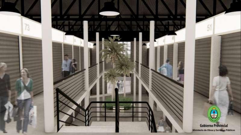 Comenzó la primera etapa de la construcción del nuevo Mercado de Ex Vía