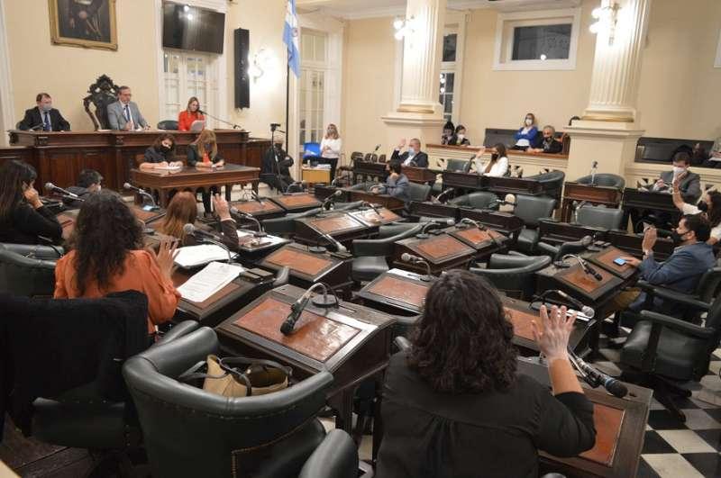 El Concejo aprobó ensanchamiento de veredas céntricas y colocación de cartelería contra la violencia de género