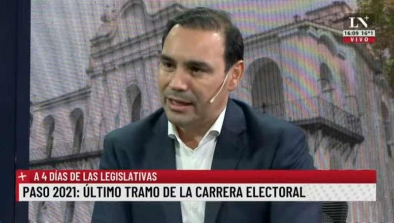 """Valdés en Buenos Aires. """"Estoy dispuesto a seguir conversando para construir la Argentina"""""""