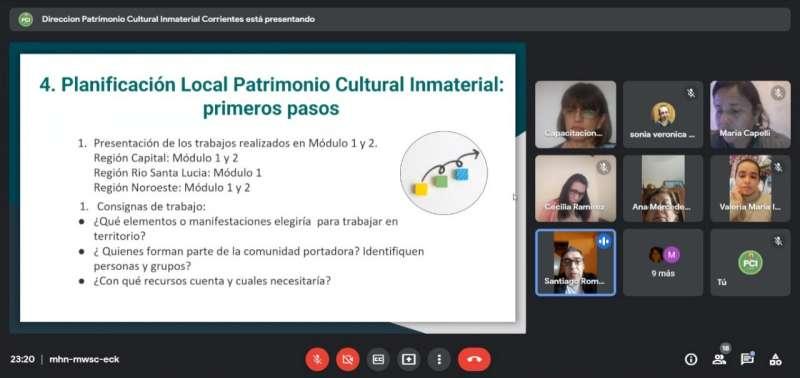 Tercera jornada de encuentros regionales sobre Patrimonio Cultural Inmaterial