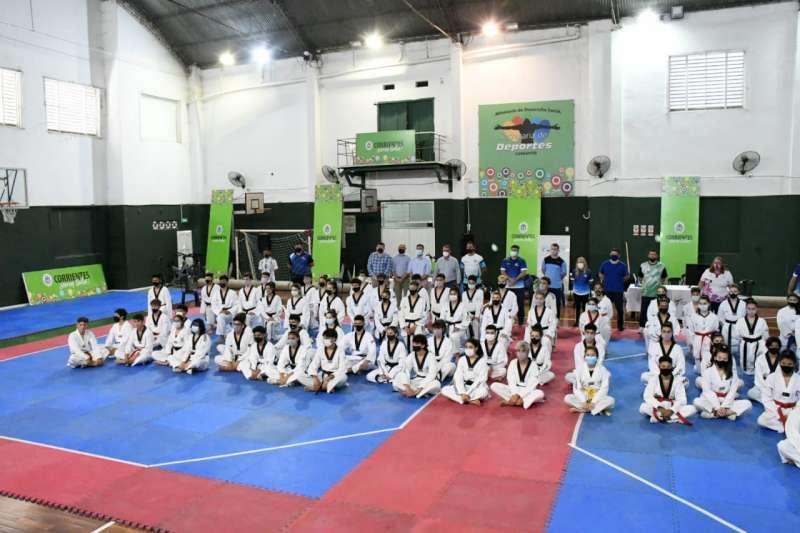 Inició en Corrientes el Campus de Entrenamiento Selectivo de Taekwondo con apoyo del Gobierno provincial